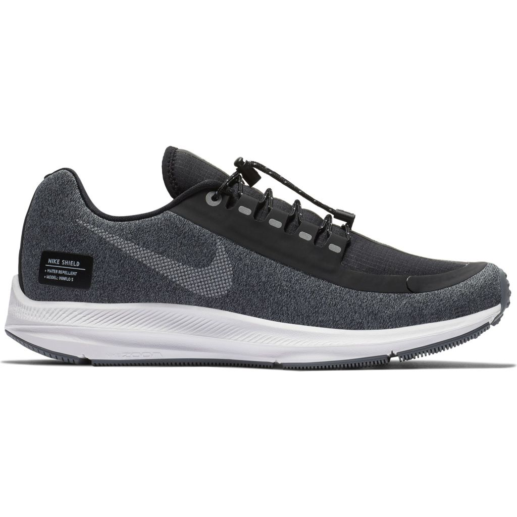 official photos e4199 0dee4 Nike Air Zoom Winflo 5 Run Shield naisten juoksukengät Musta