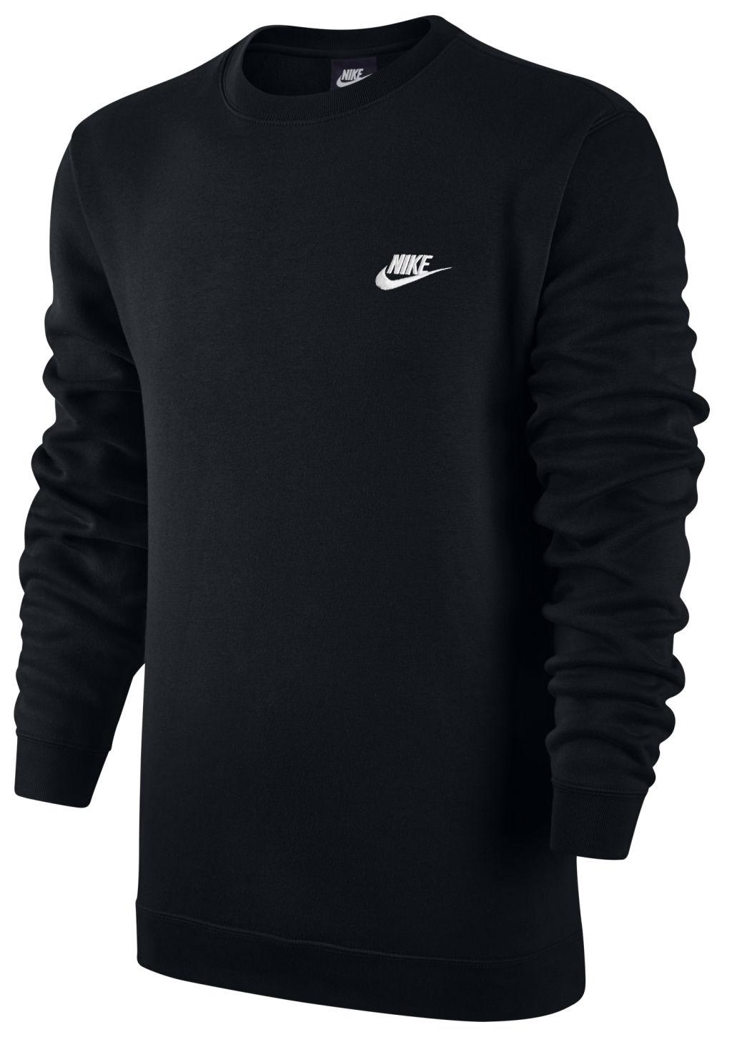 Nike Nsw Crw Flc miesten collegepaita Musta 82f343959d