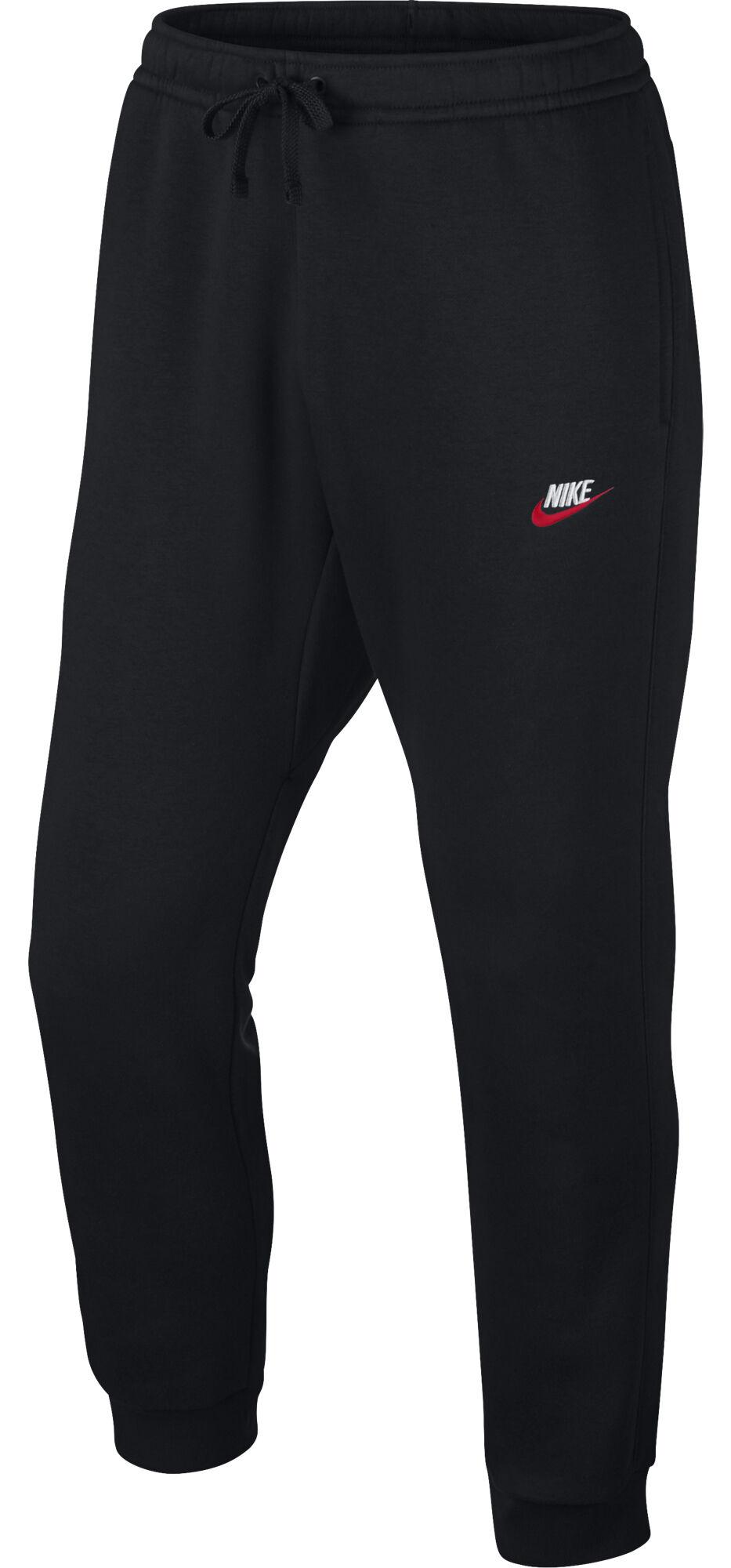 ahorros fantásticos mitad de descuento variedad de estilos de 2019 Nike Nsw Jggr Club miesten collegehousut (musta)