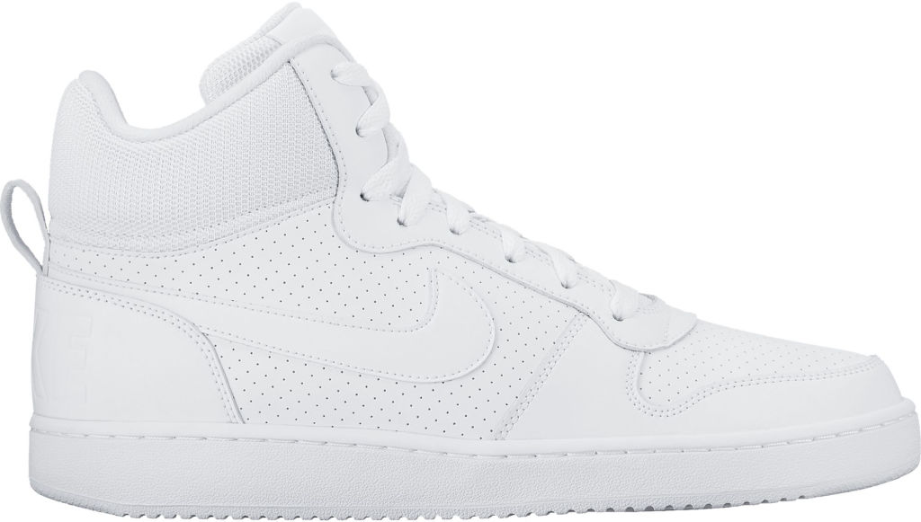 timeless design c9484 2f031 Nike Court Borough Mid miesten tennarit Valkoinen
