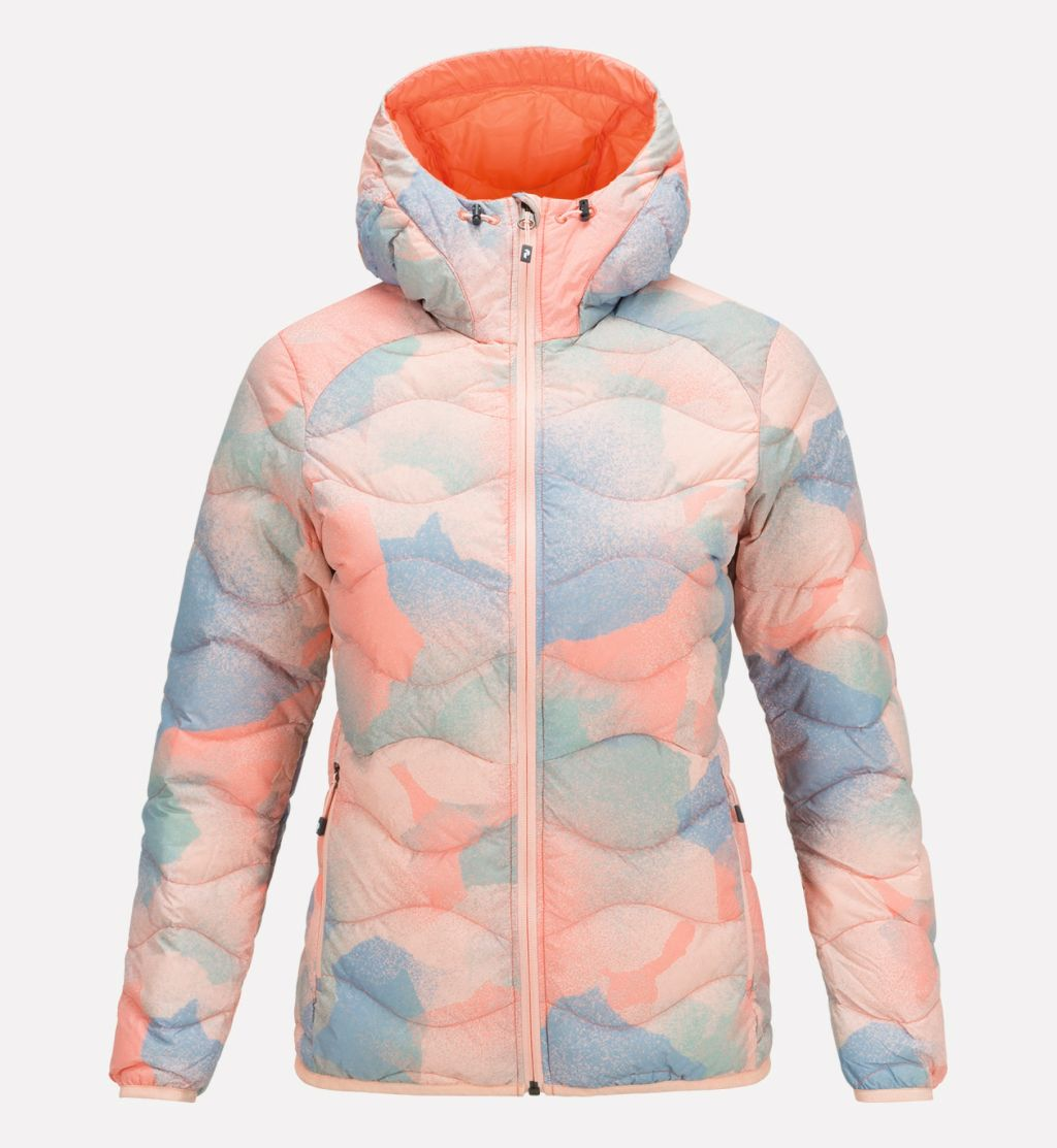 Peak Performance Helium Hood Printed Jacket W