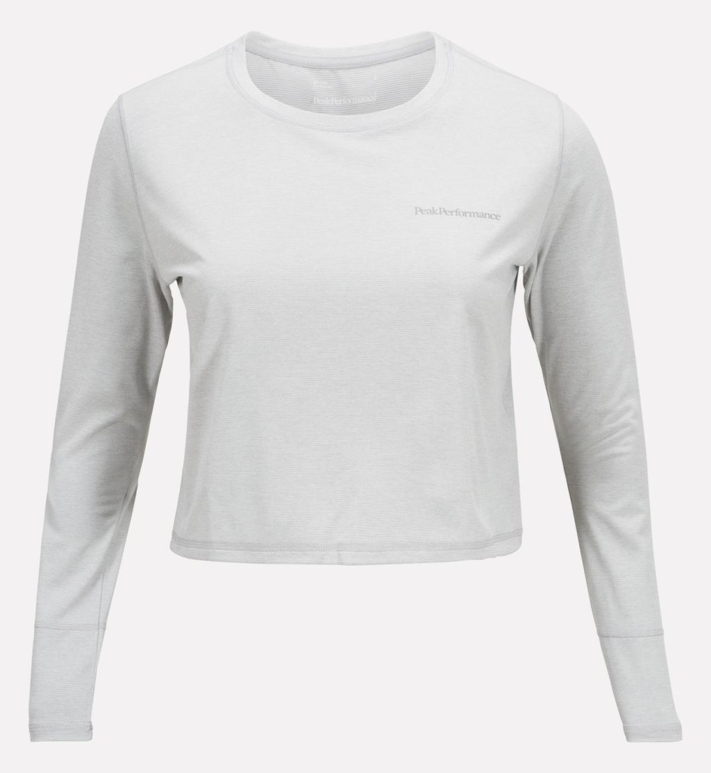 Peak Performance Cropped LS T-Shirt W
