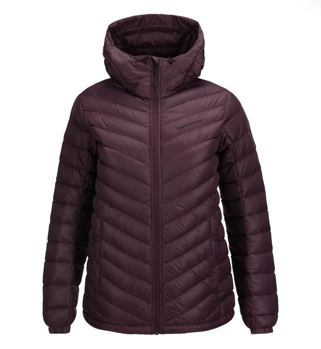 Peak Performance Frost Down Hooded Jacket W