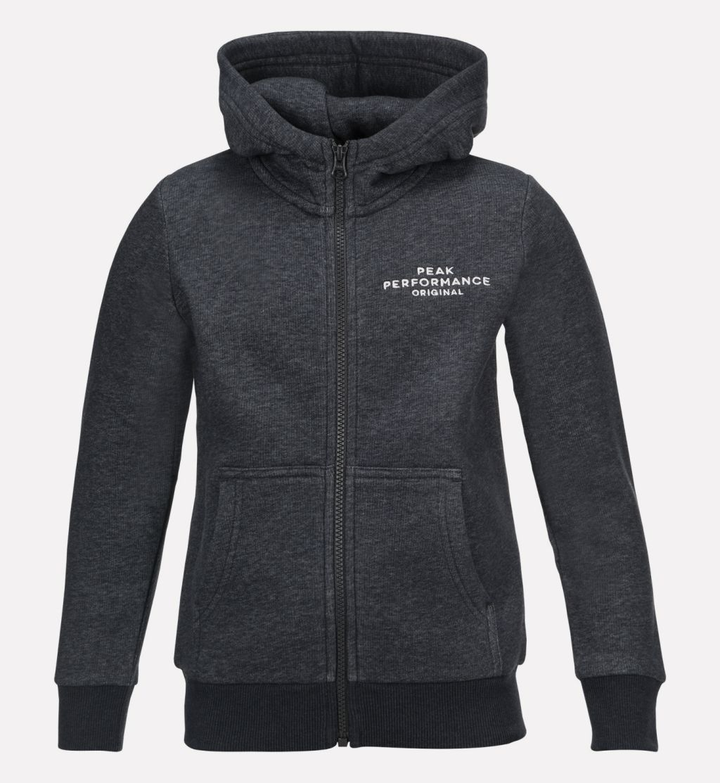 Peak Performance Logo Zip Hood JR