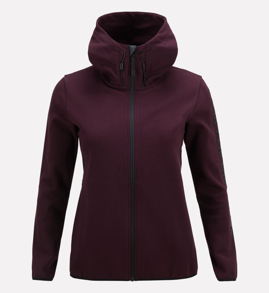 Peak Performance Tech Zip Hood W
