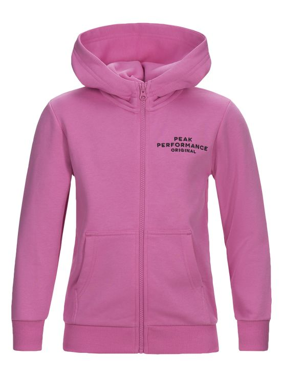 Peak Performance JR Logo Zip Hood