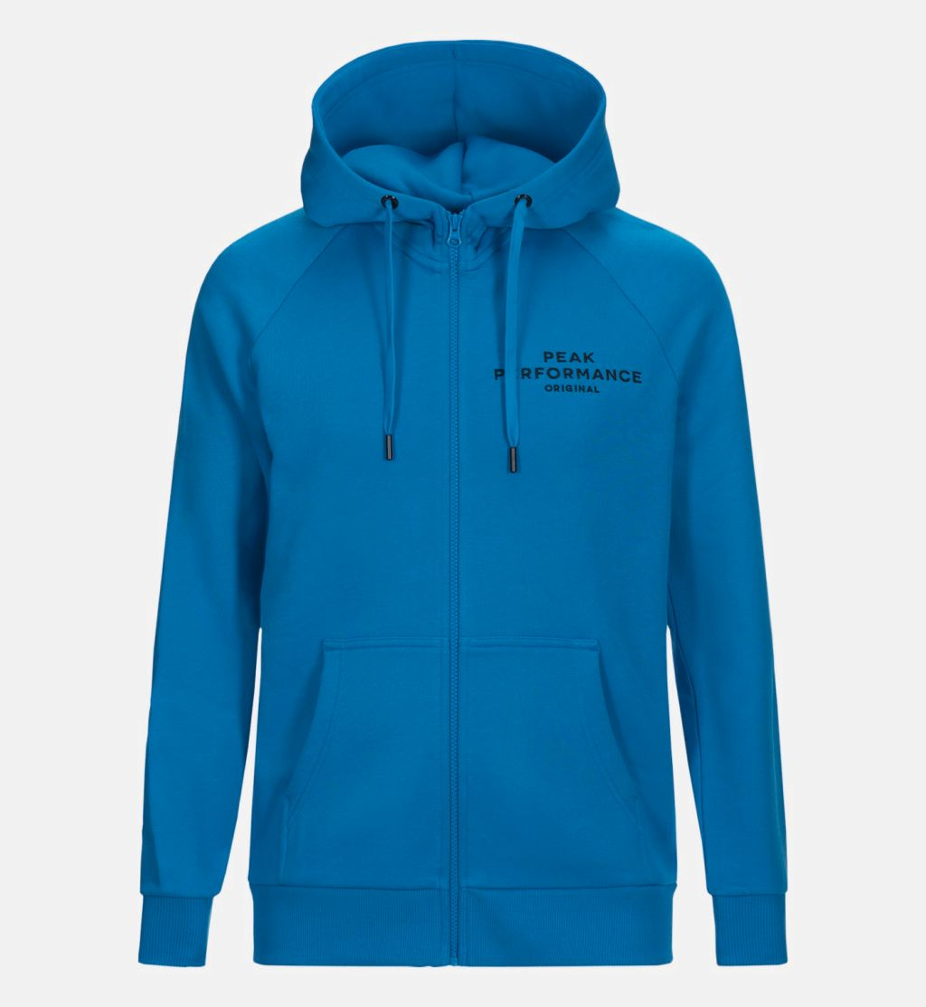 Peak Performance Logo Zip Hood M