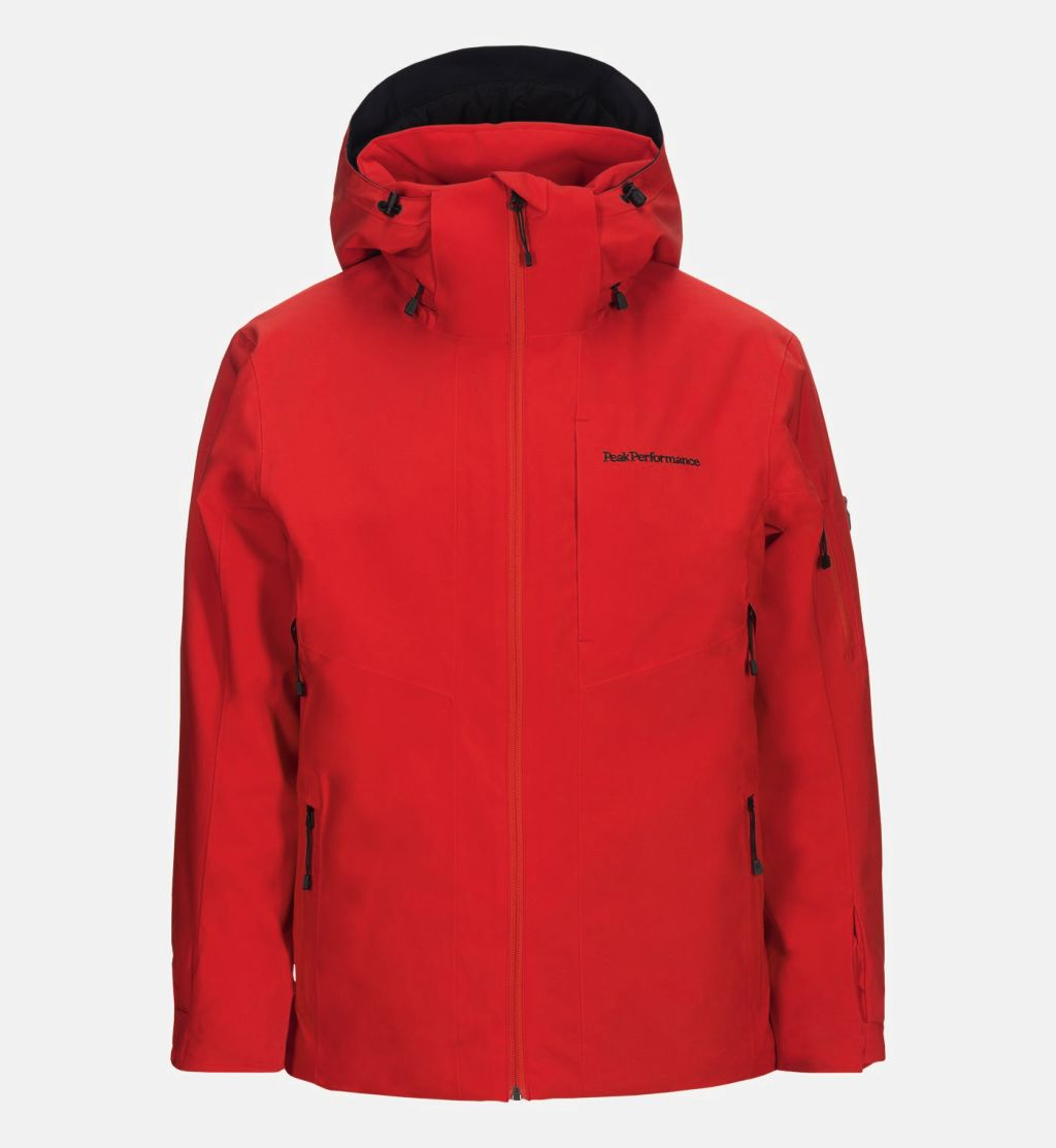 Peak Performance M Maroon Jacket