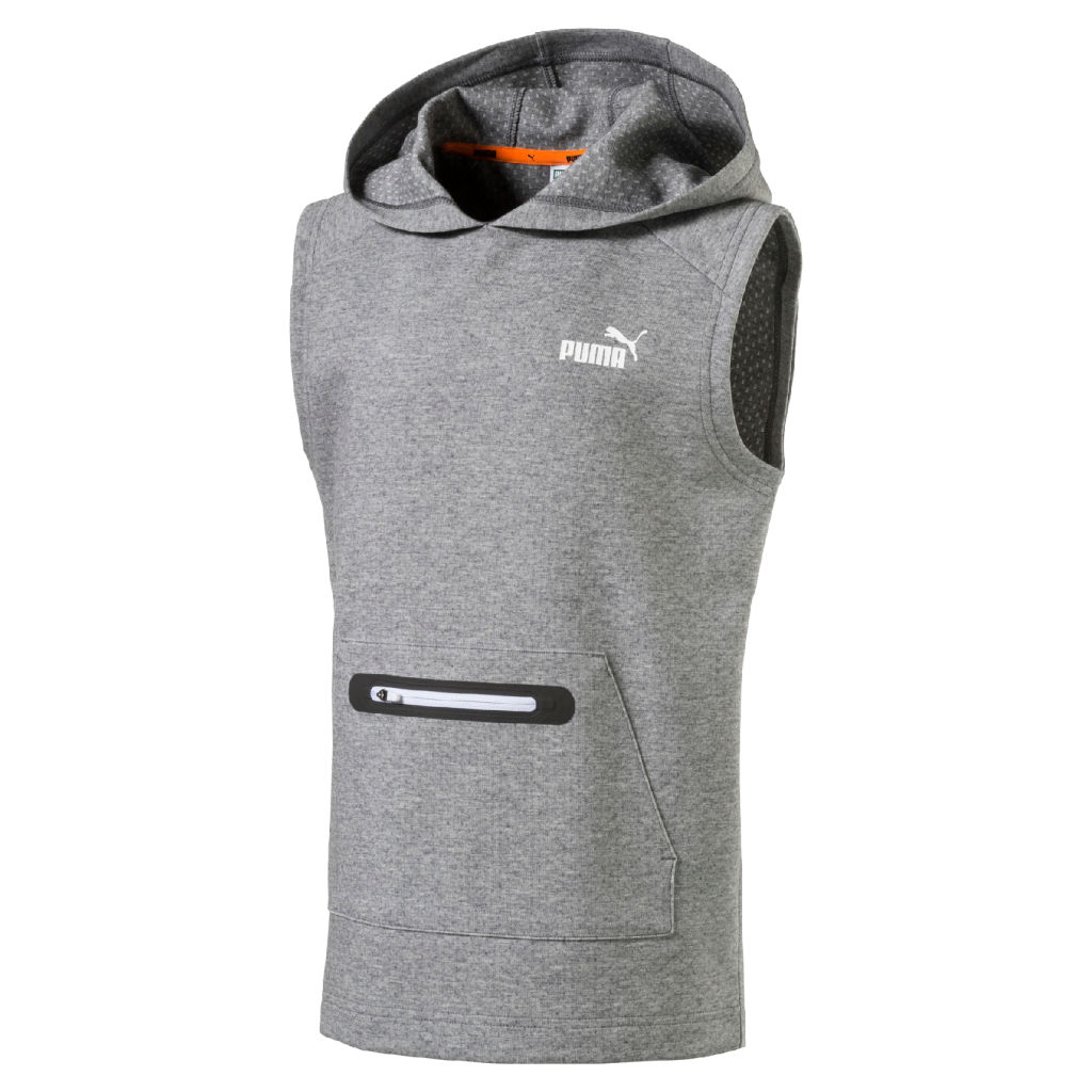 Puma Sport Style Sleeveless Hooded JR