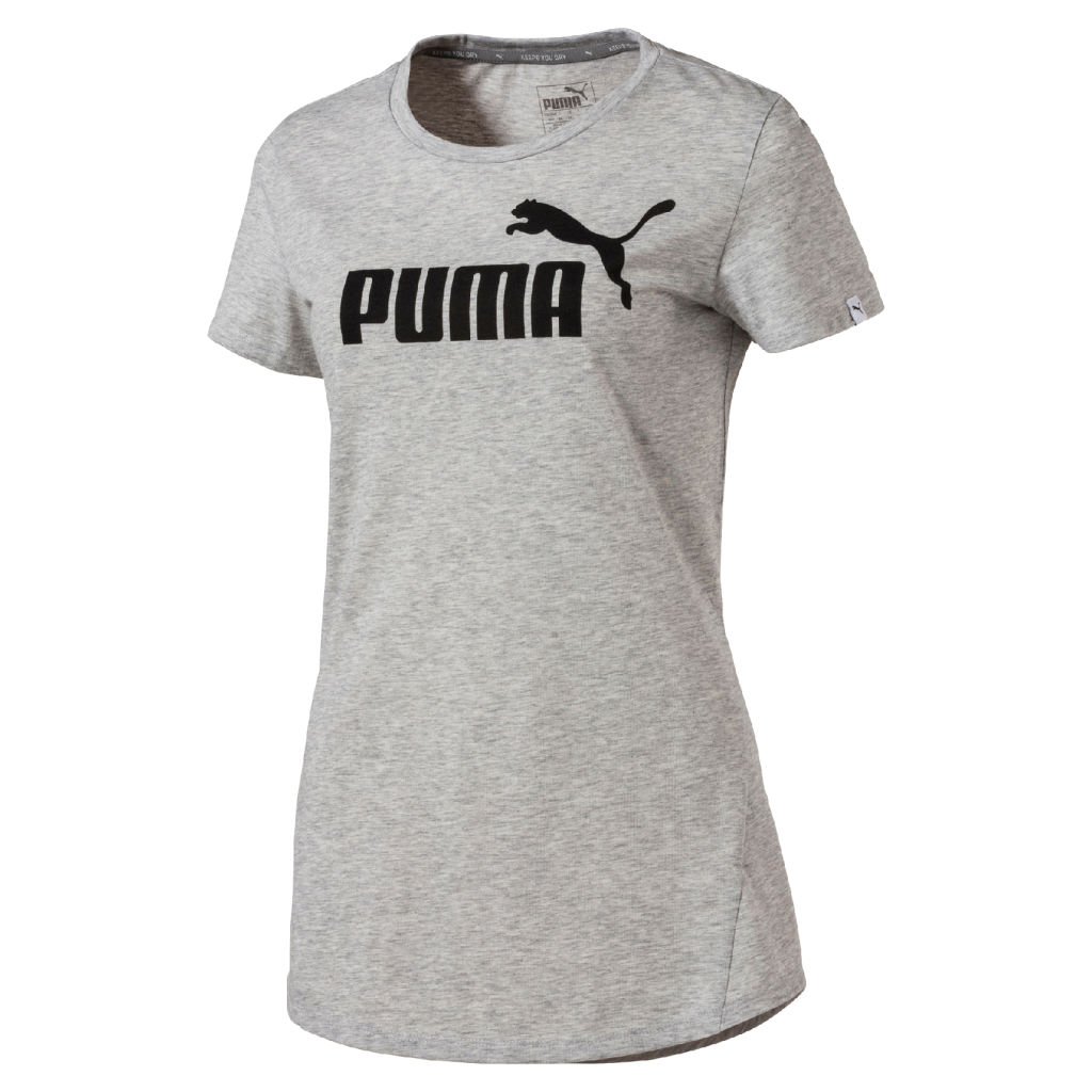 Puma Ess No.1 Tee Heather W
