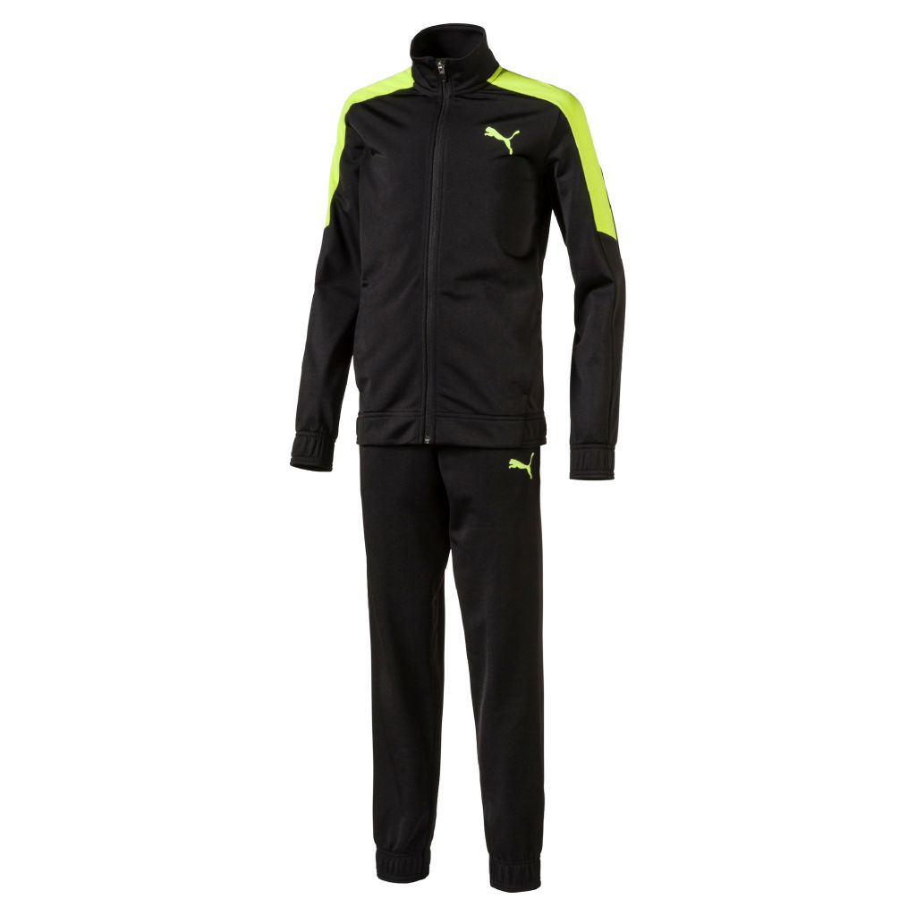 Puma Large Logo Tricot Suit Jr