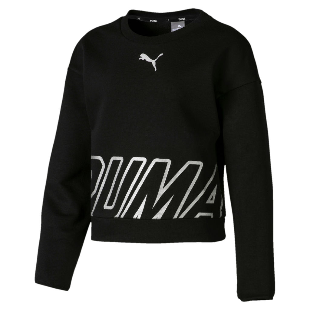 Puma Alpha Crew Sweat TR JR
