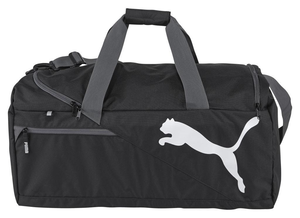 1bcf63f8171a Puma Fundamentals Sports Bag M treenilaukku Musta