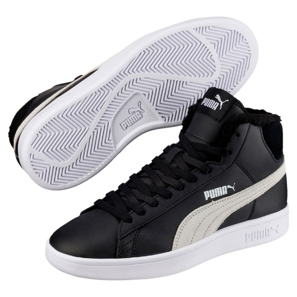 Puma Smash V2 Mid l Fur JR - Poikien talvitennarit - Intersport 90561b4cd2