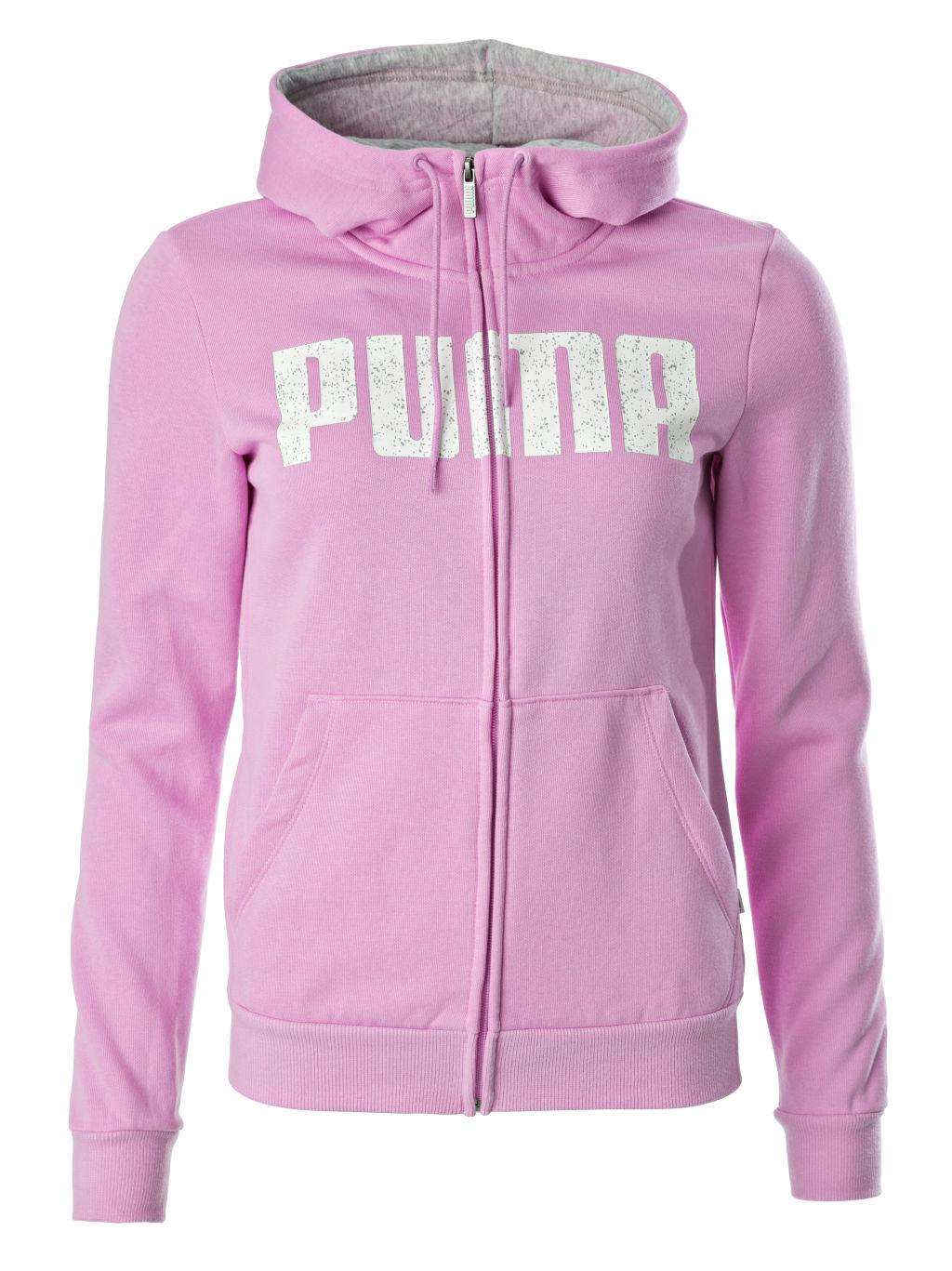 Puma Ka Graphic naisten collegetakki Vaaleanpunainen 19c426343d