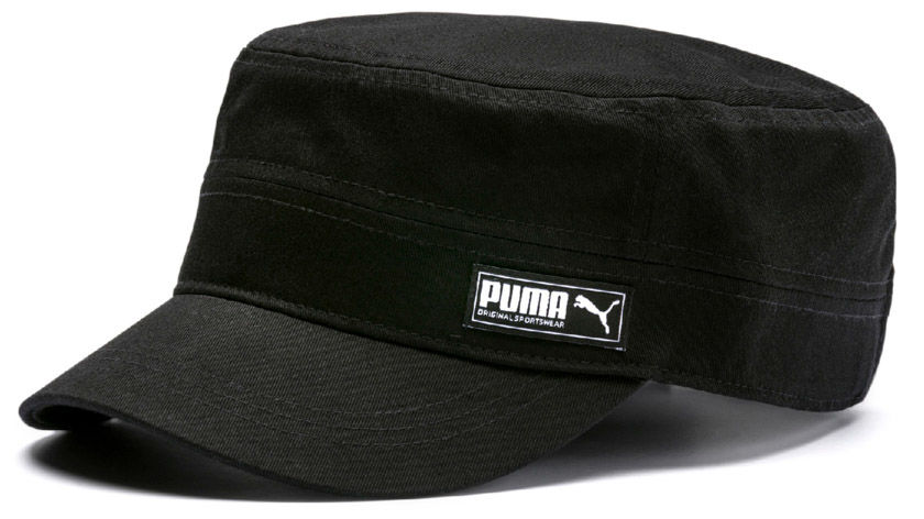 Puma Military aikuisten lippis Musta ee3c71059f