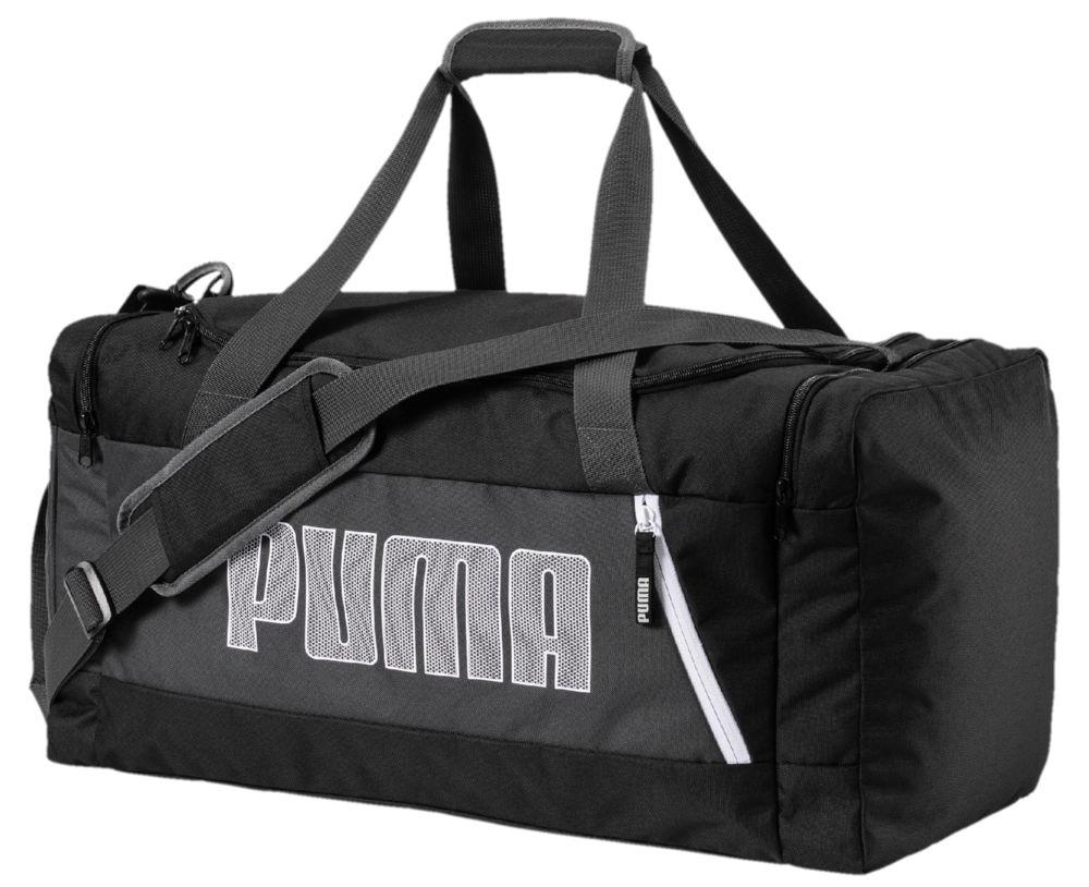 Puma Fundamentals Sports Bag M II varustelaukku Musta 2cd5f20638
