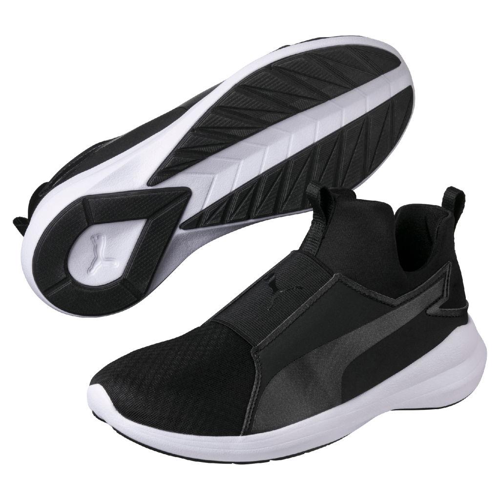 Puma Rebel Mid naisten tennarit Musta b4bdcb8045