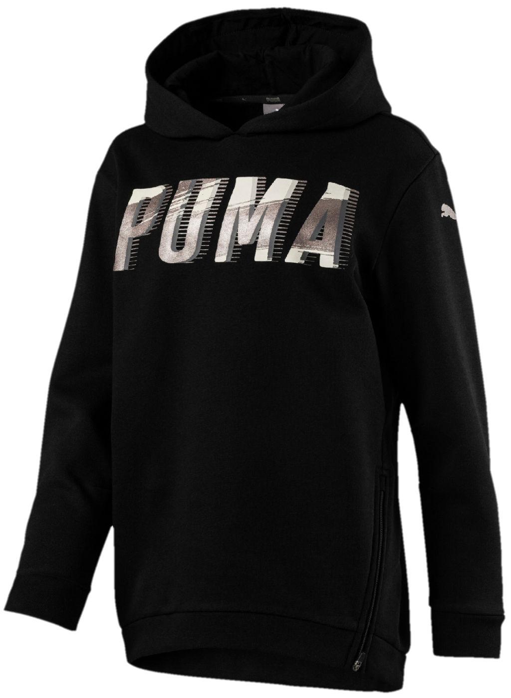 Puma Style tyttöjen huppari Musta a619ca35bc