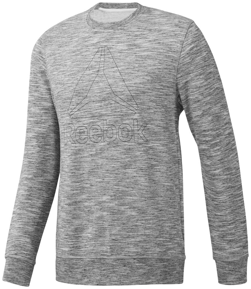 Reebok Elements Delta Crew Neck Sweatshirt M