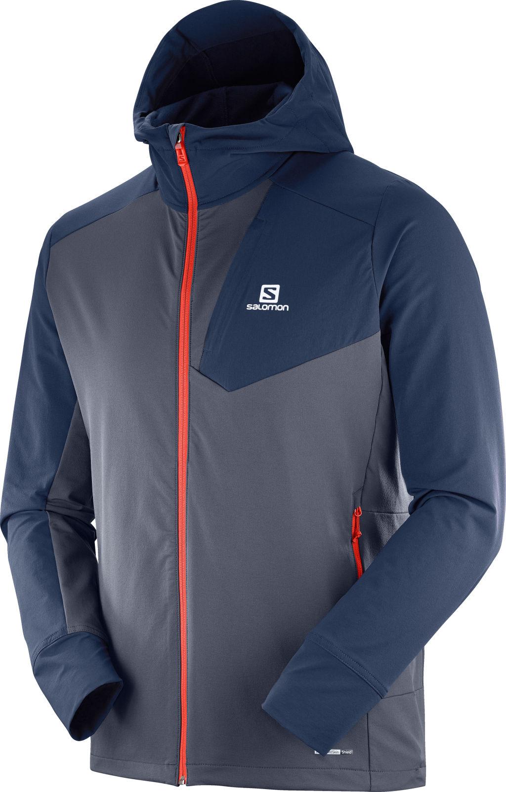 Salomon Ranger Jkt miesten softshell takki Tummansininen 76f9843ee7