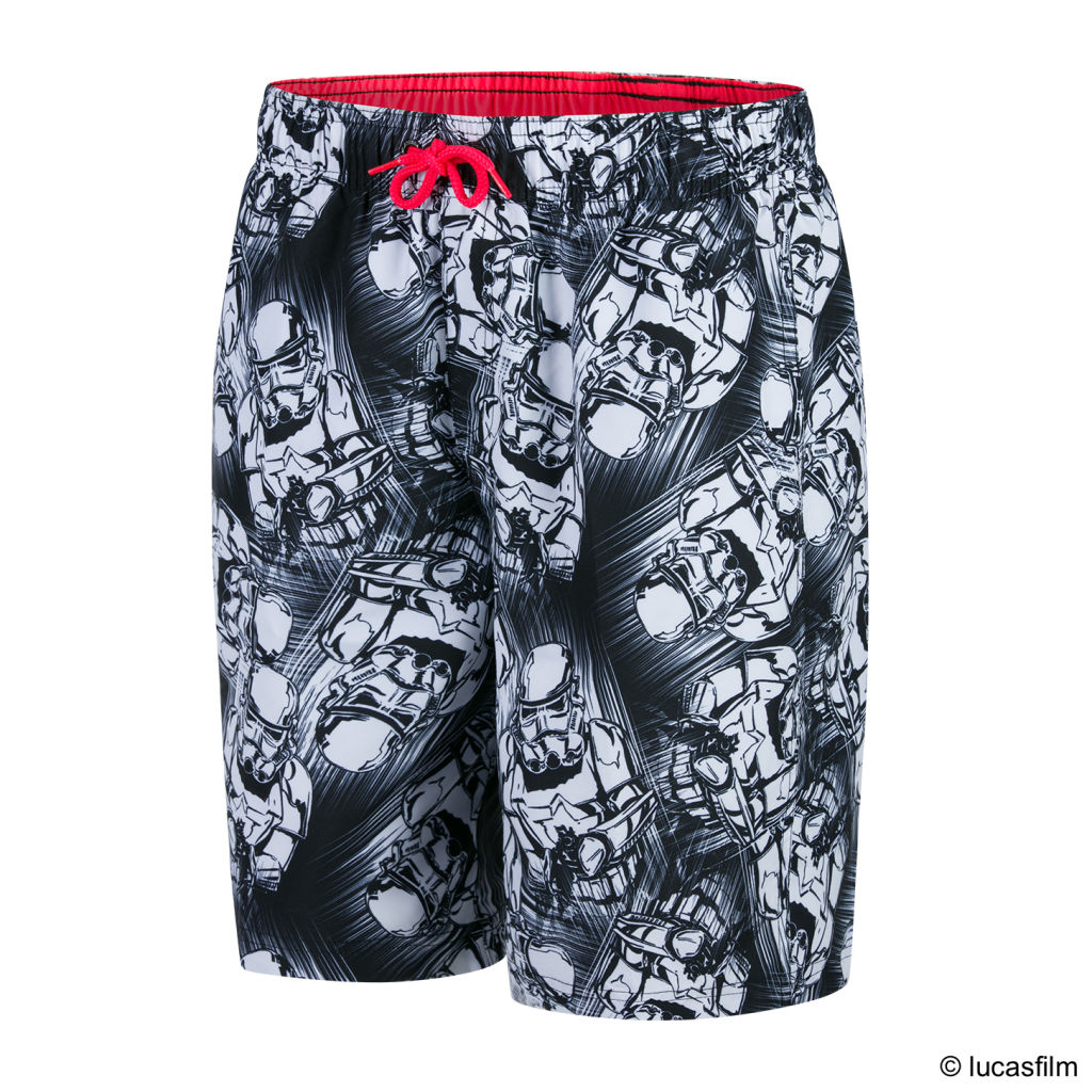 Speedo Trooper Allover Printed Leisure Watershort Jr