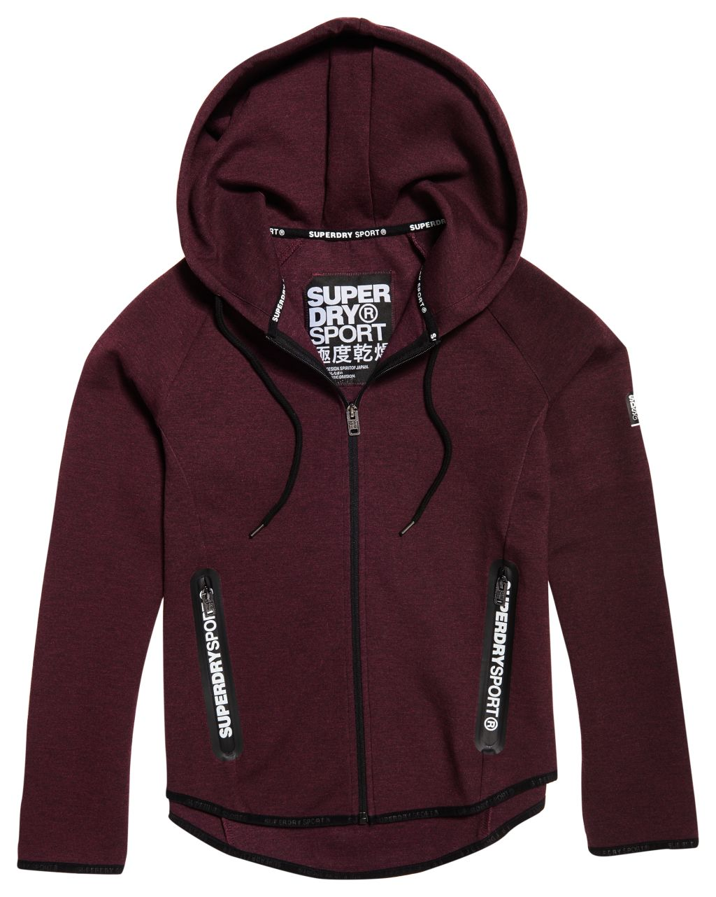 Superdry Sport Gym Tech Luxe Ziphood W