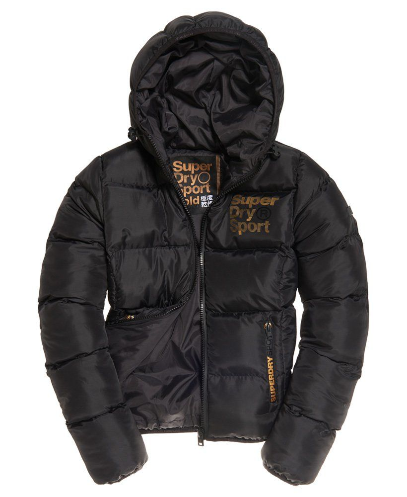 Superdry Sport Gym Tech Gold Puffa W