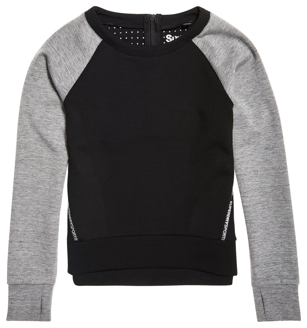 Superdry Sport Core Gym Tech Panel Crew W