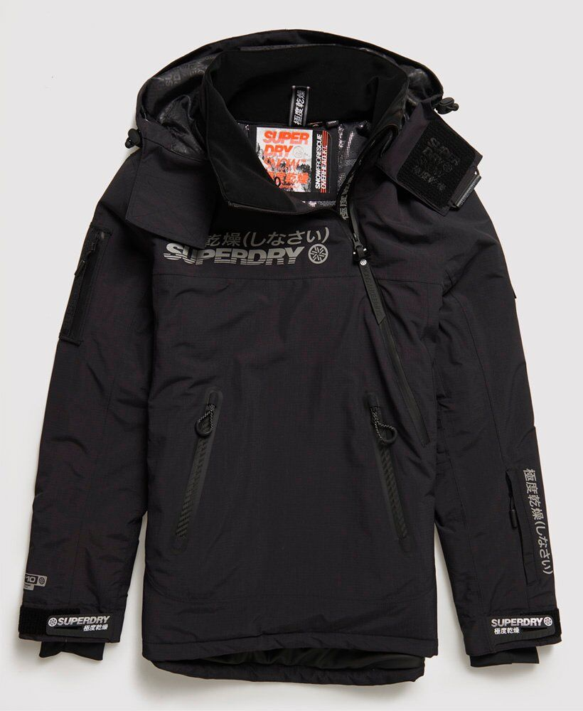 Superdry Sport Snow Rescue Overhead Jacket