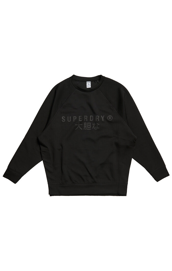 Superdry Sport Training Graphic Os Crew W