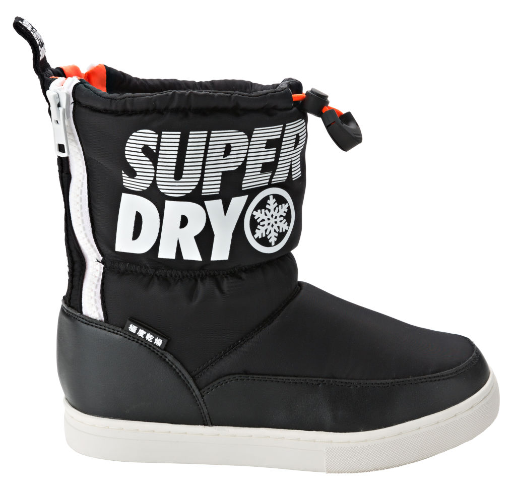 Superdry Japan Edition naisten talvikengät Musta e20e80718e