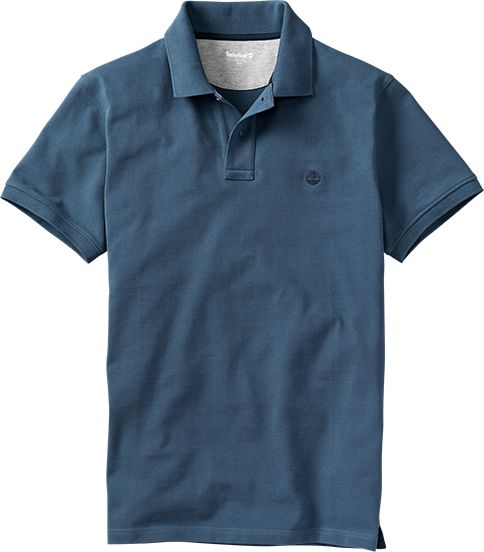 Timberland Short Sleeve Millers River Pique Refular Polo