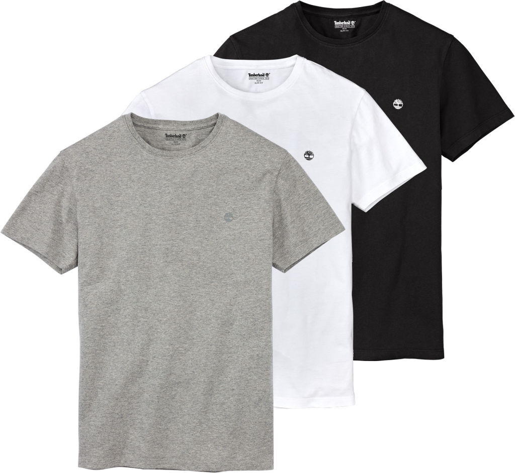 Timberland Basic Slim Tee 3-pack