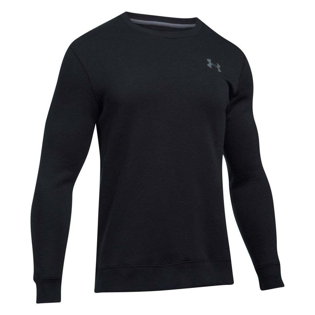 Under Armour Rival Solid Fitted Crew