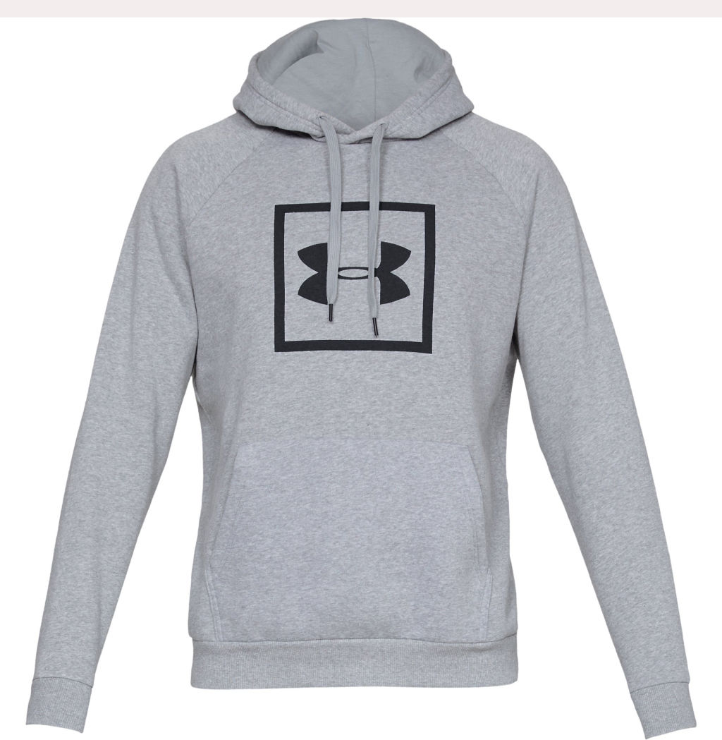298e425175e Under Armour Rival Fleece Logo miesten huppari Harmaa