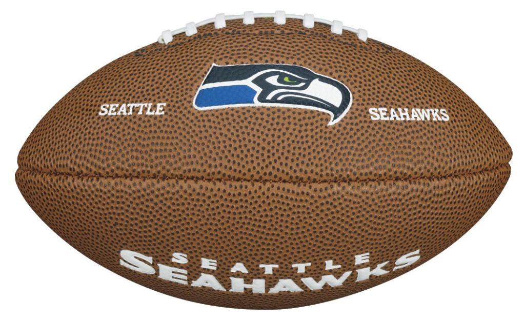 Wilson NFL Mini Seattle Seahawks amerikkalainen jalkapallo Ruskea d6adf8e830