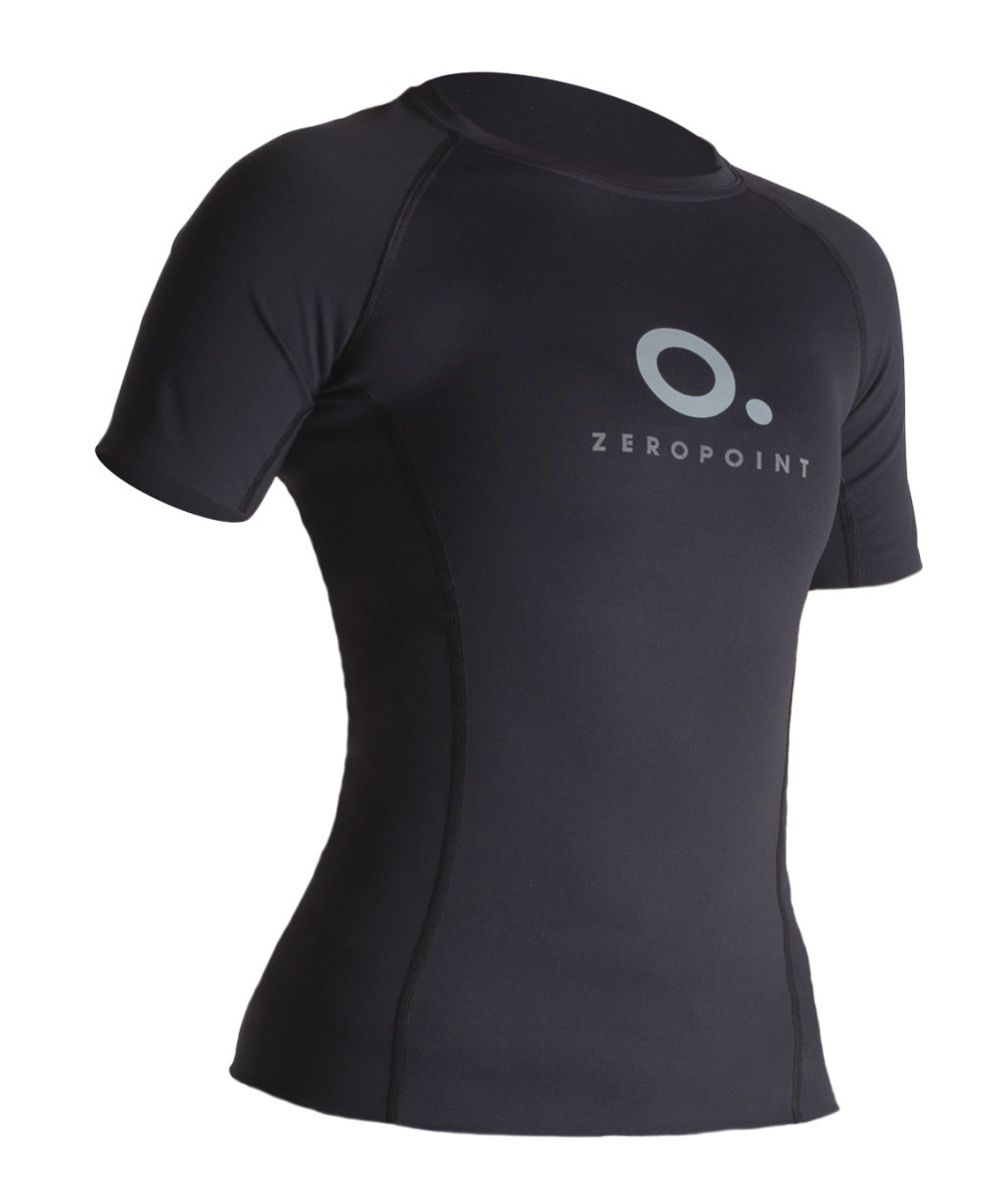 Zero Point Power Compression Short Sleeve Top W