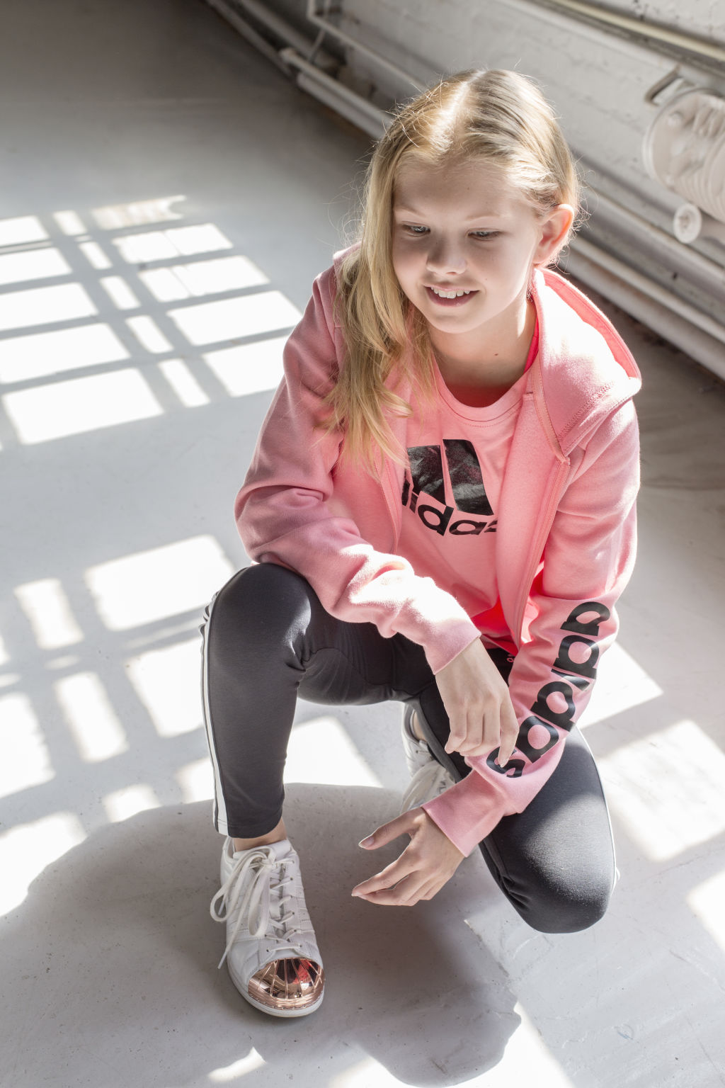 adidas YG 3Stripe Tight Jr - Tyttöjen pitkät trikoot - Intersport 41f9167077