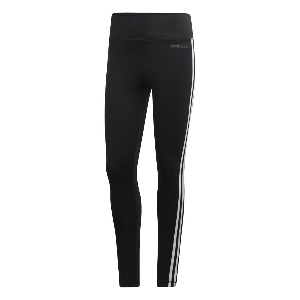 adidas Designed 2 Move 3-Stripes High-Rise Long Tights W